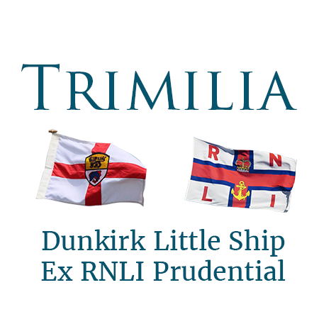 Trimilia 1925 Ex-Ramsgate RNLI Lifeboat and Dunkirk Little Ship Logo